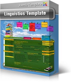 Joomla Linguistics Template