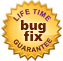 Lifetime bug fix guarantee