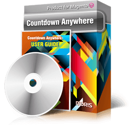 Countdown Anywhere extension for Magento