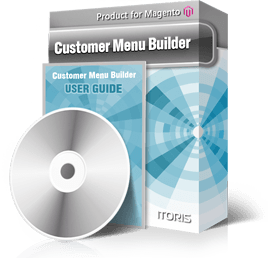 Customer Menu Builder extension for Magento