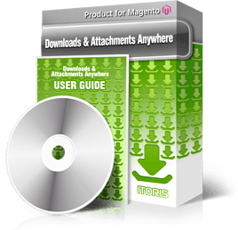 Attachments Anywhere extension for Magento