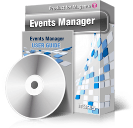Events Manager extension for Magento