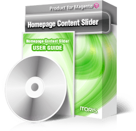 Homepage Content Slider extension for Magento