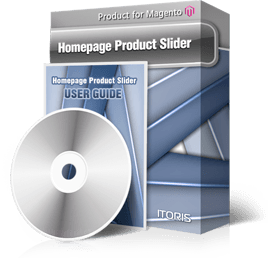 Homepage Product Slider extension for Magento