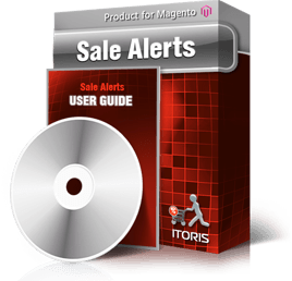 Sale Alerts extension for Magento
