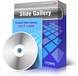 Slide Product Gallery extension for Magento