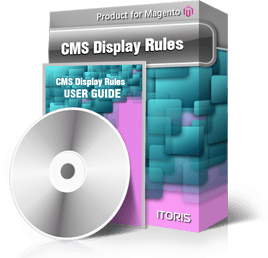 CMS Display Rules for Magento