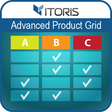 Advanced Product Grid extension for Magento 2