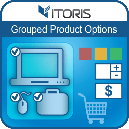 Grouped Product Options extension for Magento 2