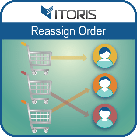 Reassign Order extension for Magento 2