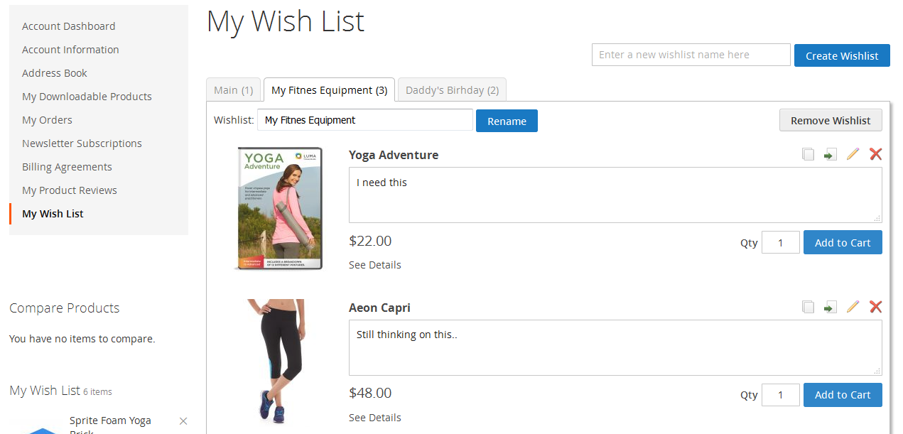 Magento 2 Multiple Wishlists Extension Itoris