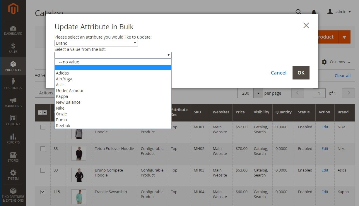 How to Update Attributes in Bulk in Magento 2