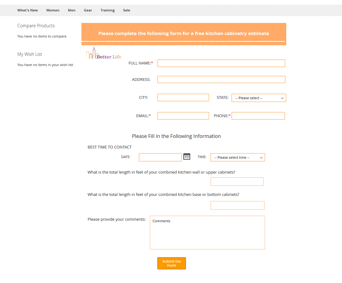 Custom Form on Frontend in Magento 2
