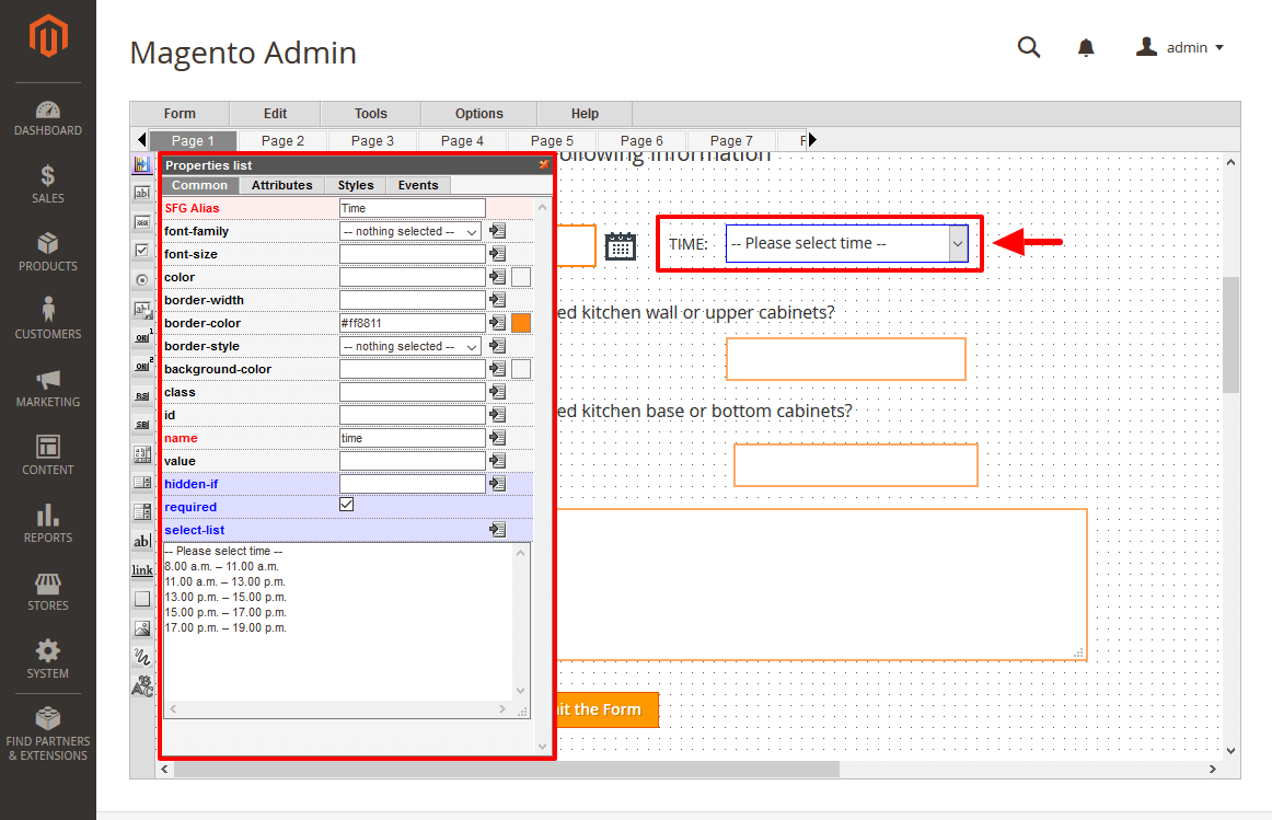 How to Add Select Box Properties in Magento 2