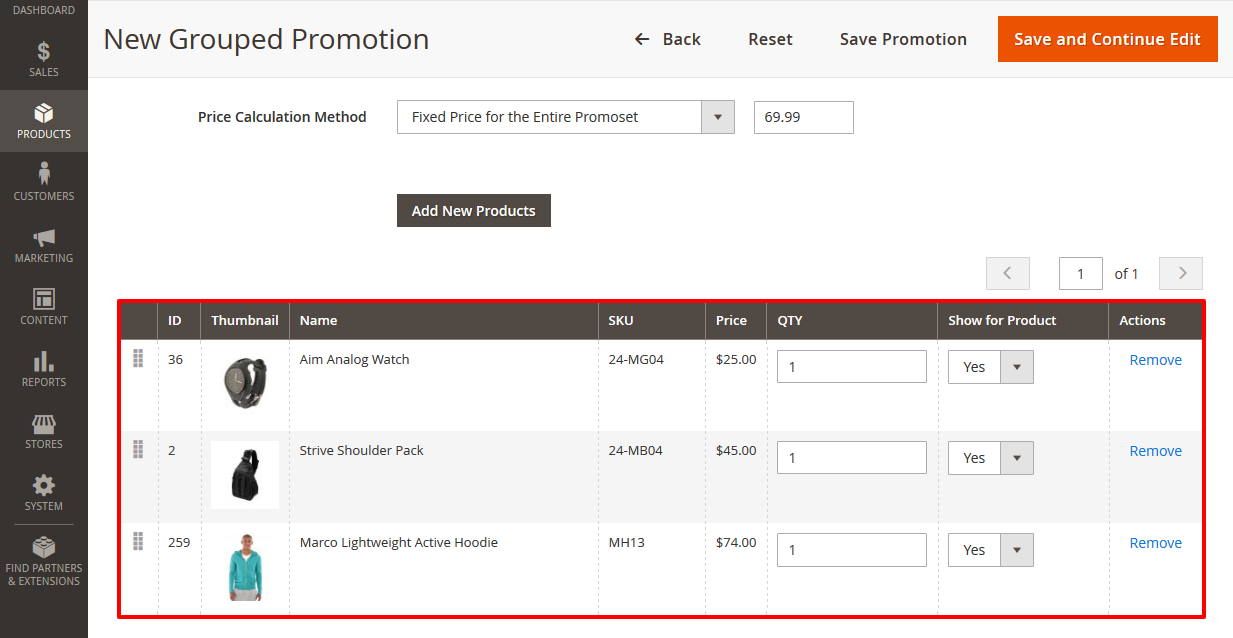 How to Create a Promoset with Fixed Final Prices in Magento 2