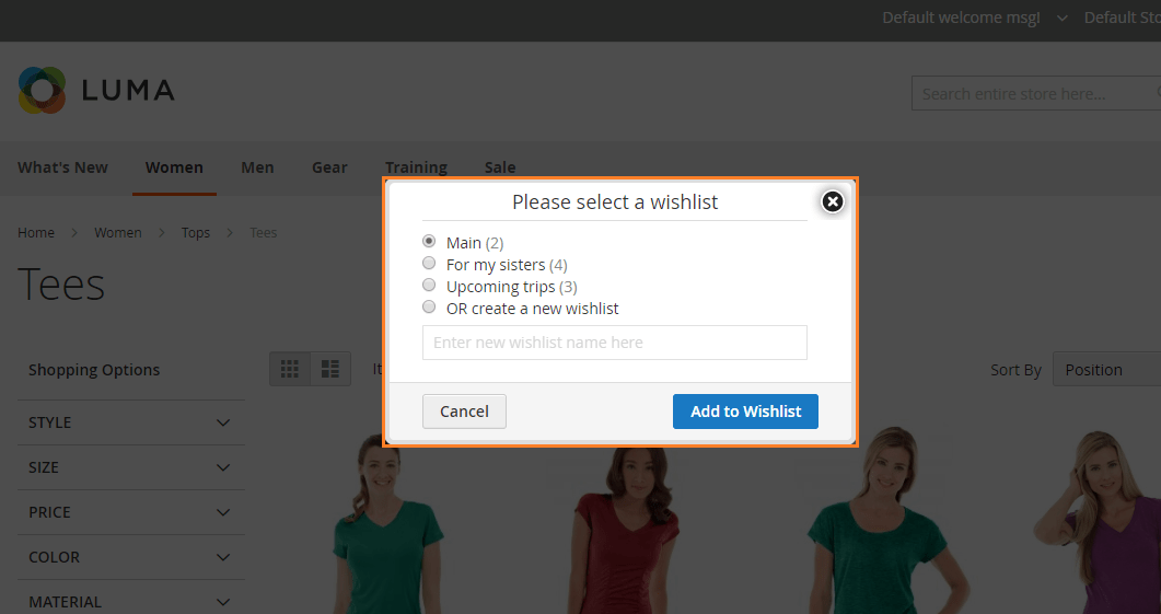 How to Add Products to Wishlists in Magento 2