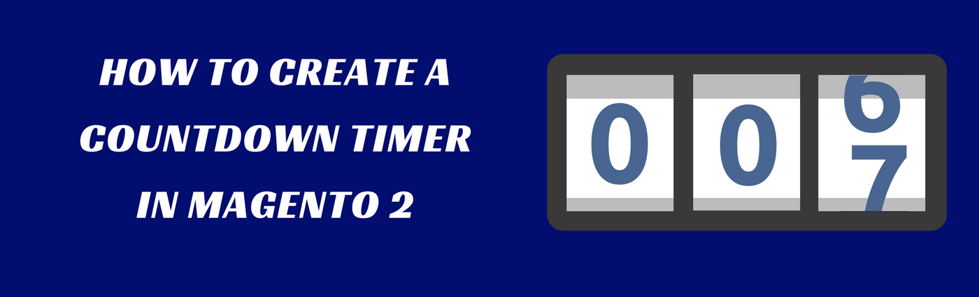 How to Create a Countdown Timer in Magento 2