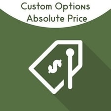 Custom Options Absolute Pricing