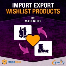 Import Export Wishlists by Magebees