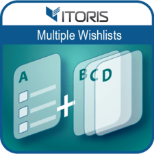 Multiple Wishlists extension for Magento 2 by ITORIS