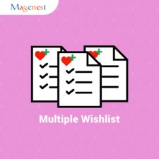 Multiple Wishlists extension for Magento 2 by Magenest